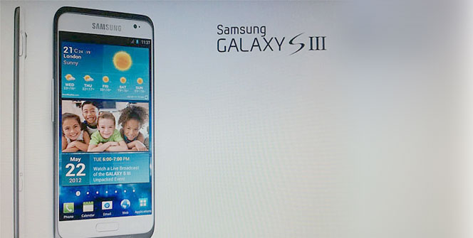 Samsung Galaxy S3 blanco