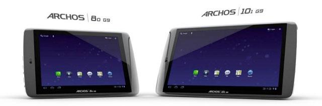 Archos G9 Tablets