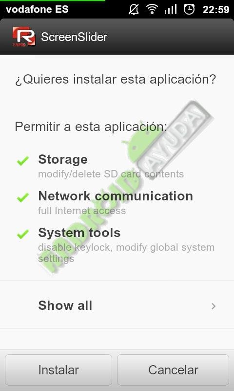 Aplicación para usar tu android como pantalla de ordenador