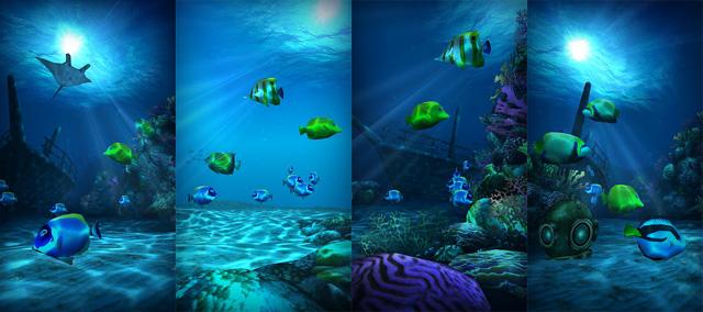 Ocean HD, las profundidades del mar en el Live Wallpaper de tu ...