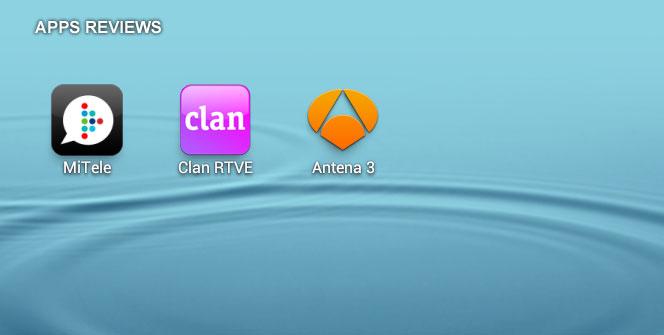 Logotipos de mitele, clan y antena 3