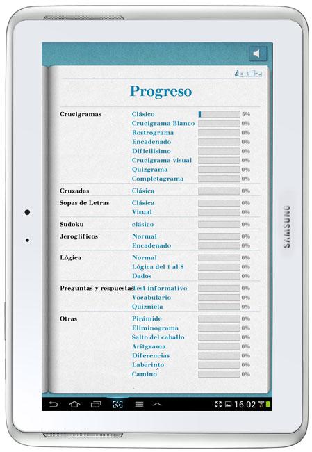 iQuiz captura de pantalla de la aplicación
