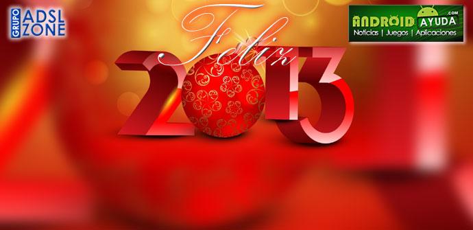 Feliz 2013 desde Android Ayuda