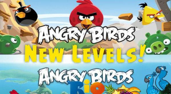 Angry Birds Rio tiene 24 nuevos niveles