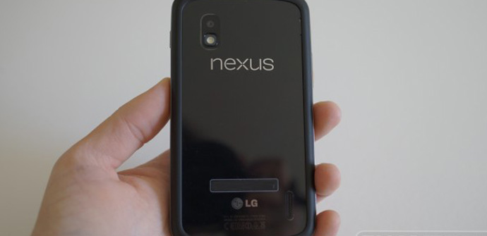 Nexus 4 sin cristal