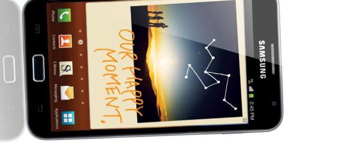 Samsung Galaxy Note, actualización a Android 4.1.2...