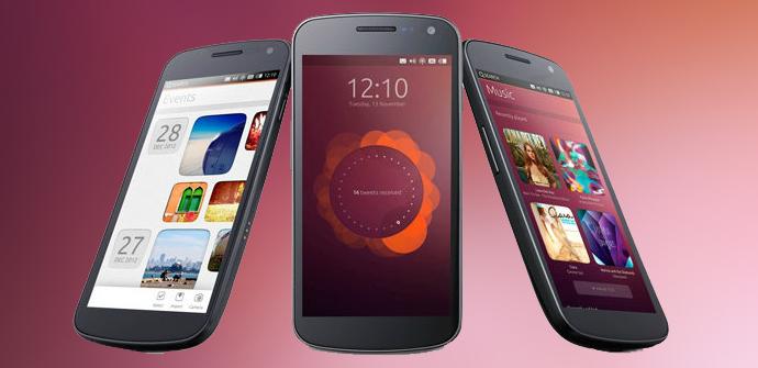 Teléfonos con Ubuntu for Phones