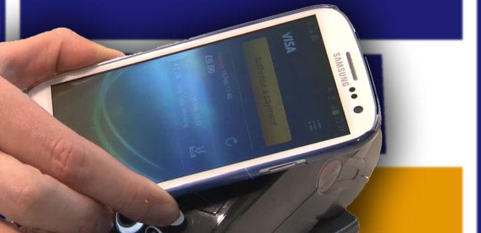 Pagos con un Samsung Galaxy S3