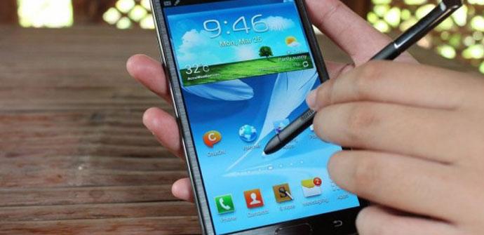 Captura de pentalla con S Pen