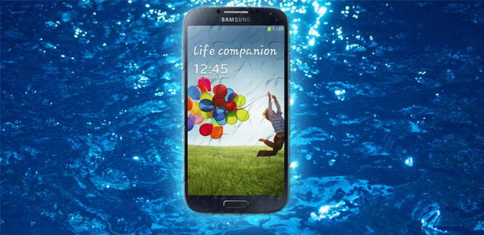 Samsung Galaxy S4 resistente al agua