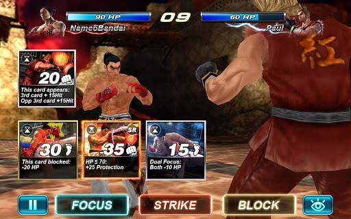 Nuevo juego Tekken para el sistema operativo Android
