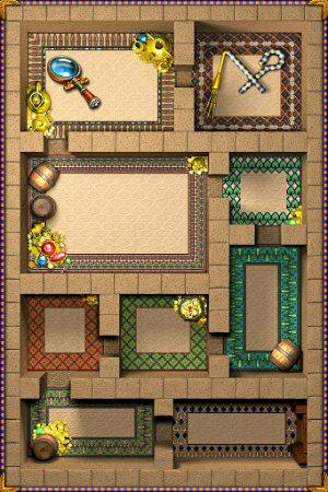 Mapas del jeugo par Android Jewellust