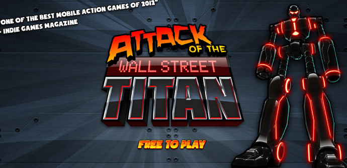Juego Android Attack of the Wall Street Titan