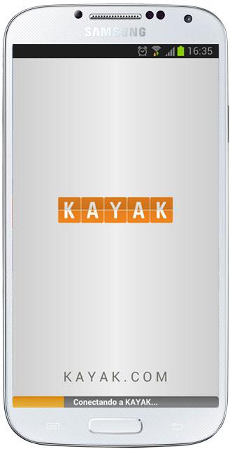 Inicio de Kayak