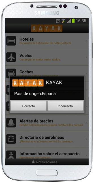 Principal de Kayak