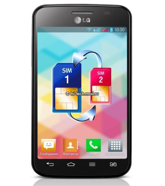 Teléfono LG® Optimus™ L4 Dual SIM