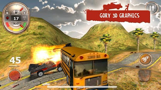 Juego Android Zombie Derby