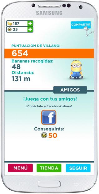 Redes sociales en GRU. Mi villano favorito: Minion Rush