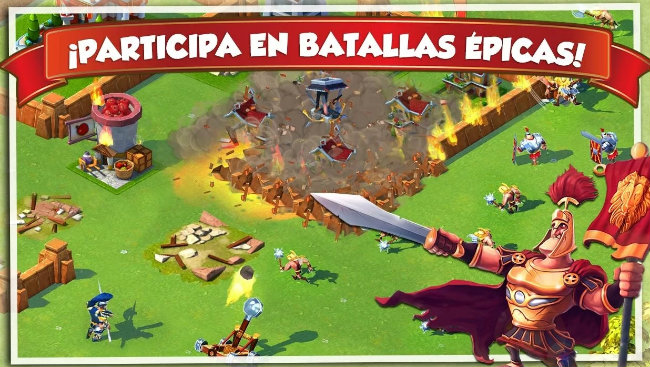 Juego Total Conquest para Android