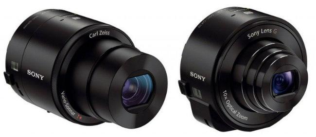 Nuevas lentes Sony QX10 y QX100
