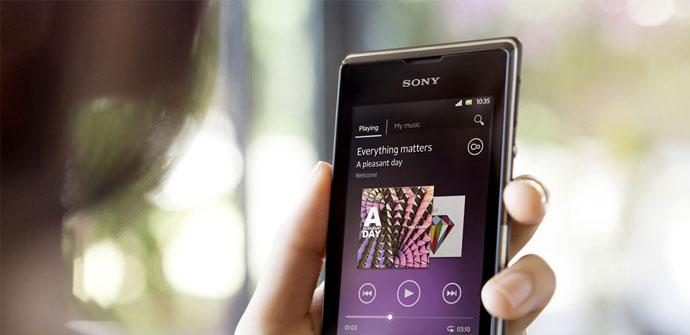 Imagen del Sony Xperia E de Sony