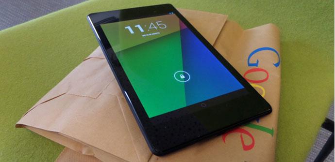 El nuevo Nexus 7 recibe una actualización con pequeñas mejoras