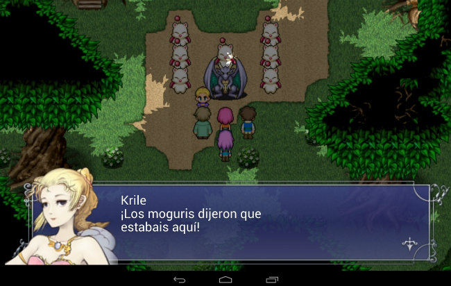 Juego Final Fantasy V para Android