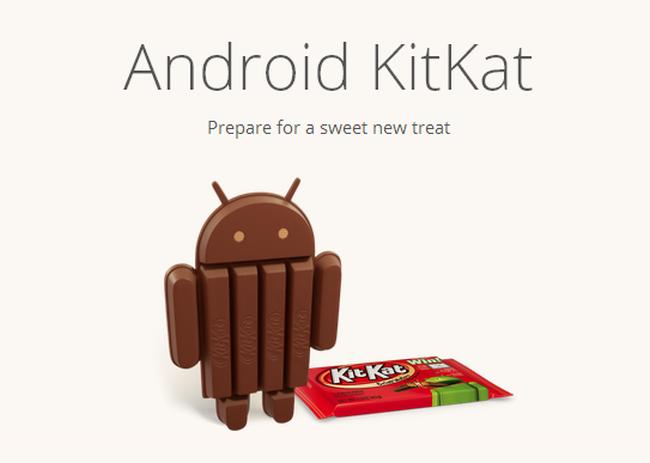 Android 4.4 KitKat: Gafas y relojes inteligentes como nuevos objetivos