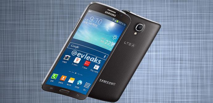 POsible imagen del Samsung Galaxy Round