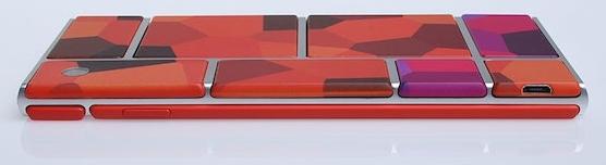 Diseño de un teléfono modular de Phonebloks