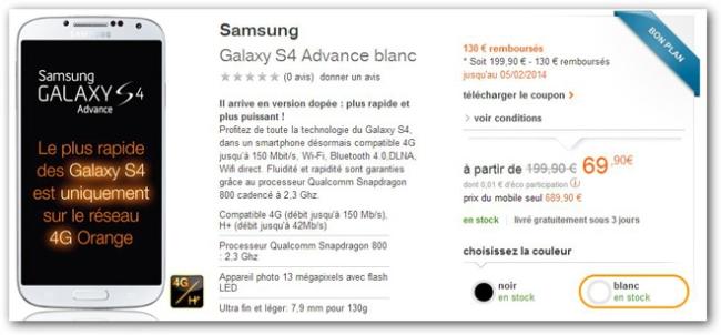 El Galaxy S4 Advanced con Snapdragon 800, al otro lado de los Pirineos