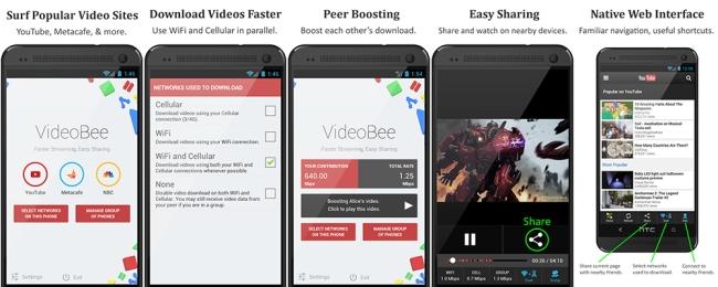 Descarga y comparte vídeos rápidamente gracias a VideoBee para Android