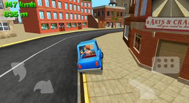 Juego Android Driving Reckless