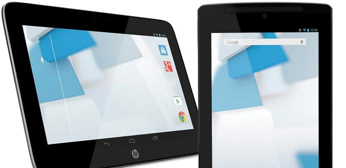 HP Slate, los nuevos tablets de HP.