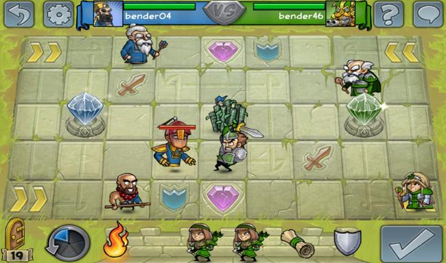 Juego de estrategia Hero Academy