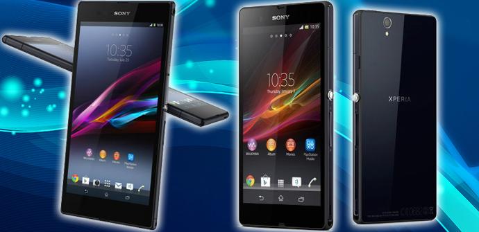 Sony Xperia Z1 y Xperia Z Ultra.