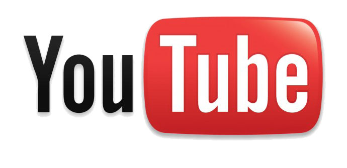YouTube logo.