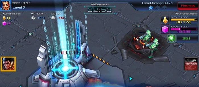 Juego Android Galaxy Factions