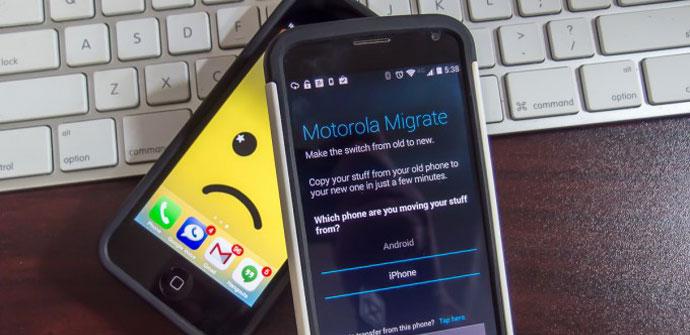 Aplicación Migración de Motorola