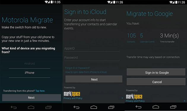 Interfaz de Migración de Motorola
