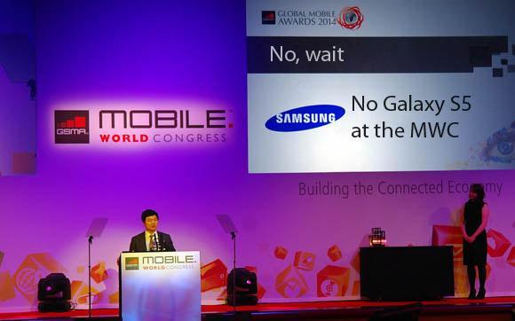 Ejecutivo Samsung hablando Samsung Galaxy S5
