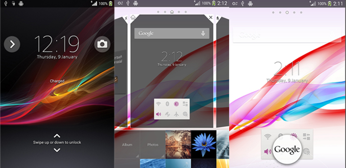 Xperia T con Android 4.3.