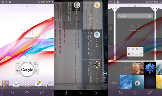 Xperia SP con Android 4.3.