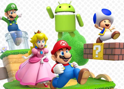Android y Mario