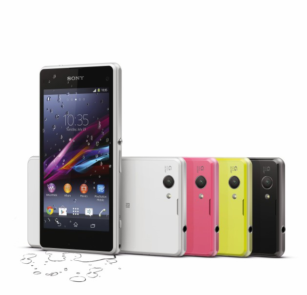 Sony Xperia Z1 Compact.