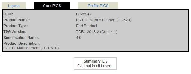 Posible LG G2 Mini en la entidad Bluetooth SIG