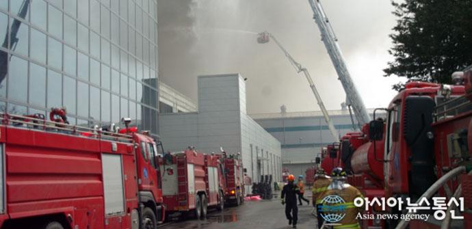 Incendio fábrica PCBs Galaxy S5