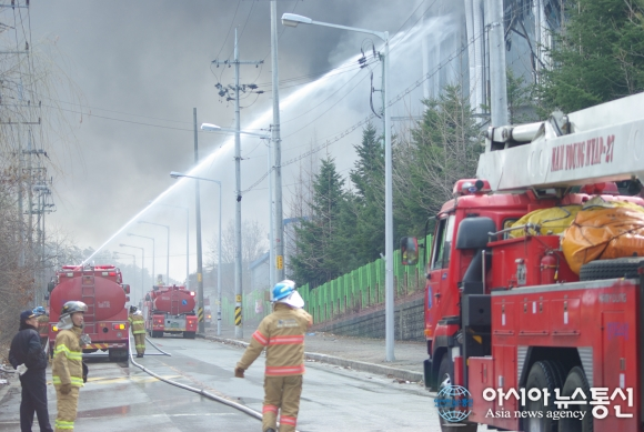 Incendio en una fábrica de producción del Galaxy S5
