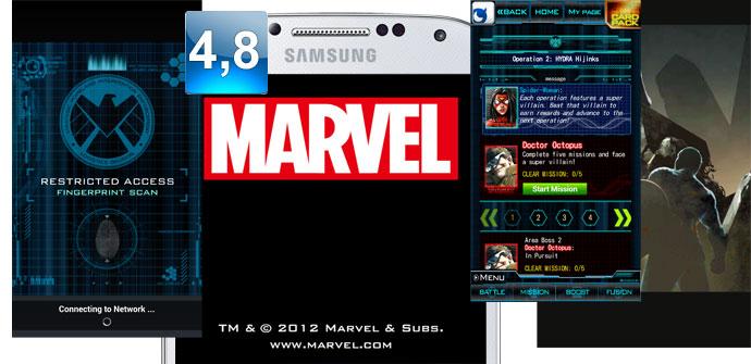 Apertura Marvel War of Heroes