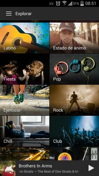 Nueva opción Estado de ánimo en Spotify